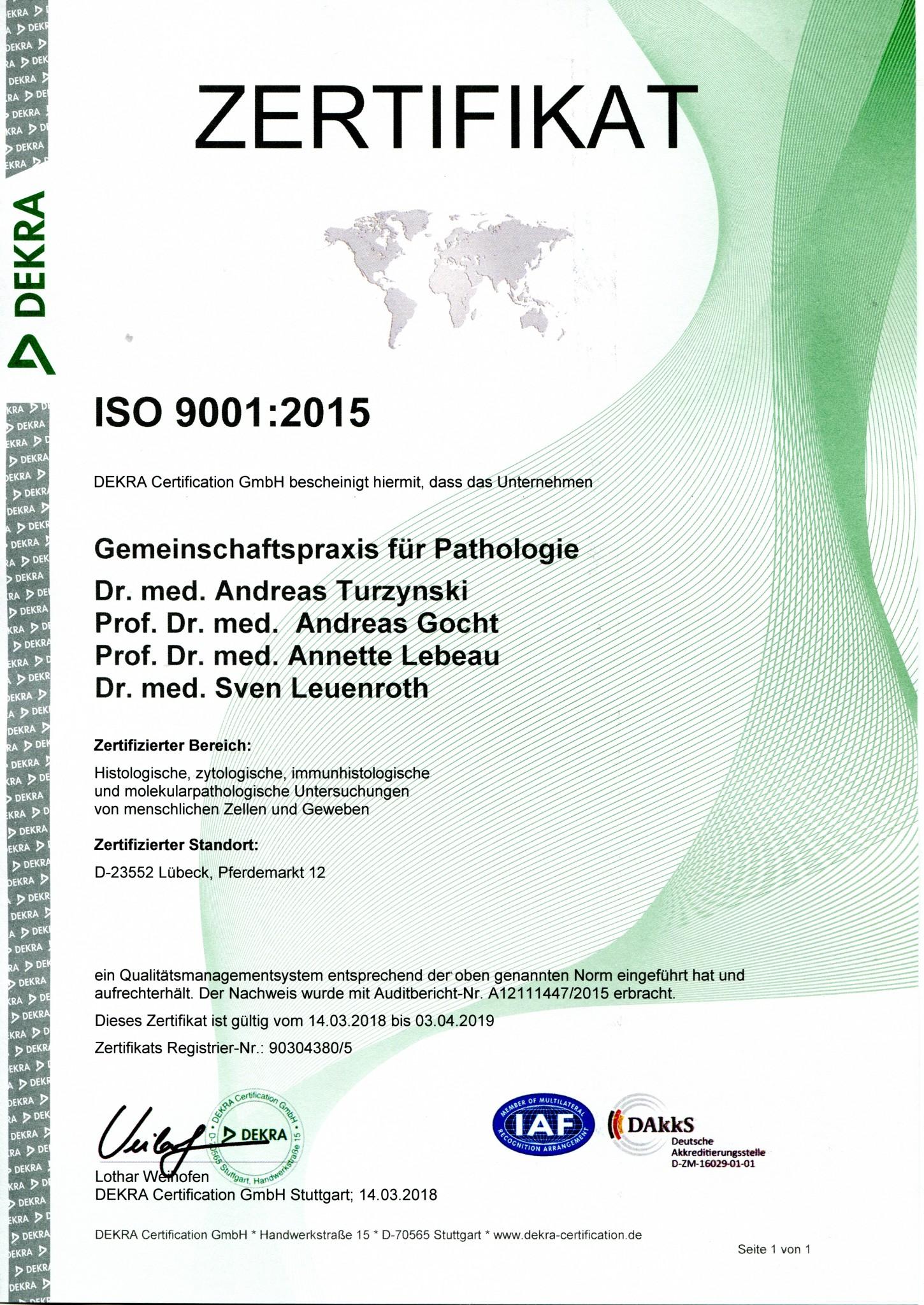 Zertifikat 2018037